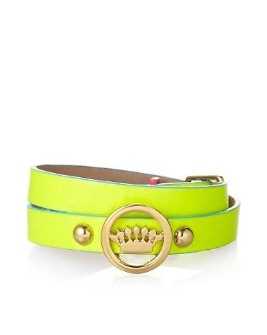 Juicy Couture - Neon Double Wrap Bracelet