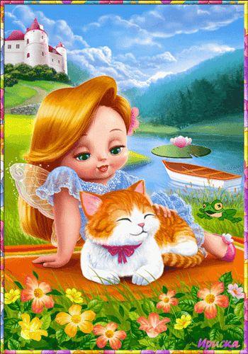 Сказочная маленькая фея, Сказочные картинки