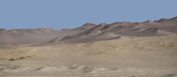 Paracas National Reserve. - Paracas National Reserve in Peru.