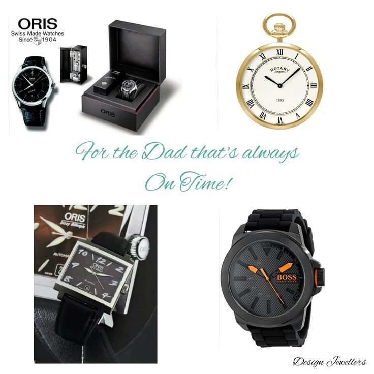 Watches are a classic gift.  Design Jewellers carries a multitude  of brand name watches that any Father would be honored to wear on his wrist! Visit us today at West Edmonton Mall or contact as at 780-489-0079 or email us at design@designjewellers.com