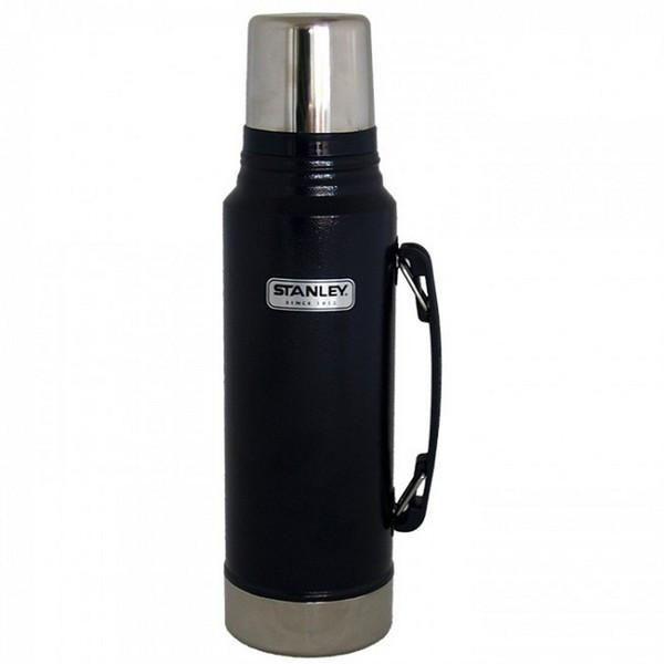 STANLEY     Classic 1L Vacuum Flask - Hammertone Navy