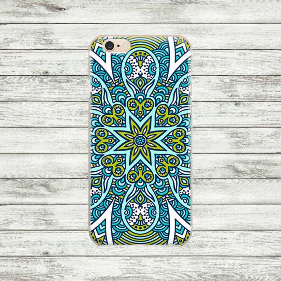 Mandala iPhone 6  case iPhone 6 Plus silicone or plastic case.
