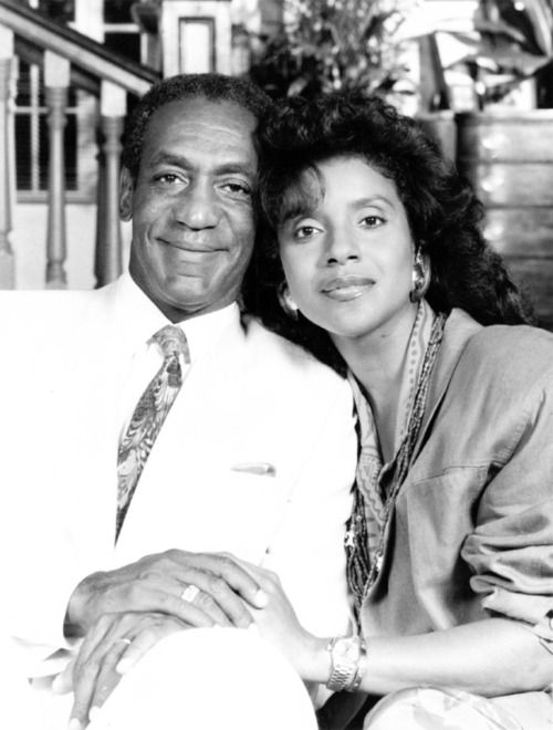 Dr. & Mrs. Huxtable from The Cosby Show