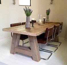 houten tafel maatwerk Kloster