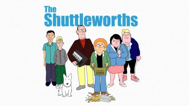 "Title sequence for the pilot episode of ""The Shuttleworths"", the new animated version of the cult Radio 4 show. Written and performed by Graham Fellows, produced by Chic Ken and Baby Cow productions. Full episode available to download in the next few weeks...."