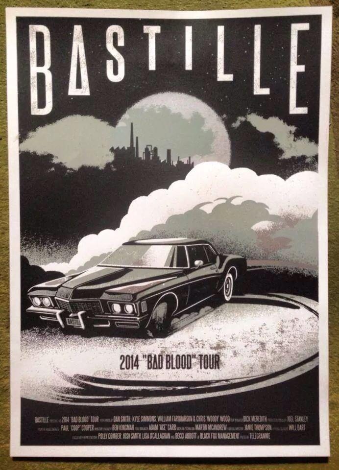 bastille tour australia 2016