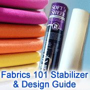 how to embroider on every kind of fabric. good to know!