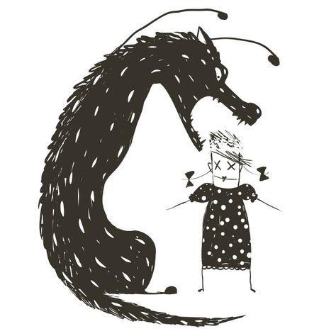 El juego del lobo es un juego muy típico entre los niños. Unos hacen ...