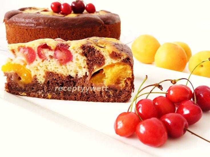 Ovocný koláč v tortovej forme