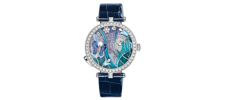 Eternal Spring on Hand with the Van Cleef and Arpel Lady Arpel Papillon Automate