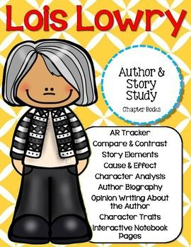 This study covers 4 of Lois Lowry's Books: Number the Stars, The Birthday Ball, The Willoughbys, and Stay! Keeper's Story. This set lets you take a closer look at Lois Lowry and her renowned stories! This is a great document to use in your own lessons.