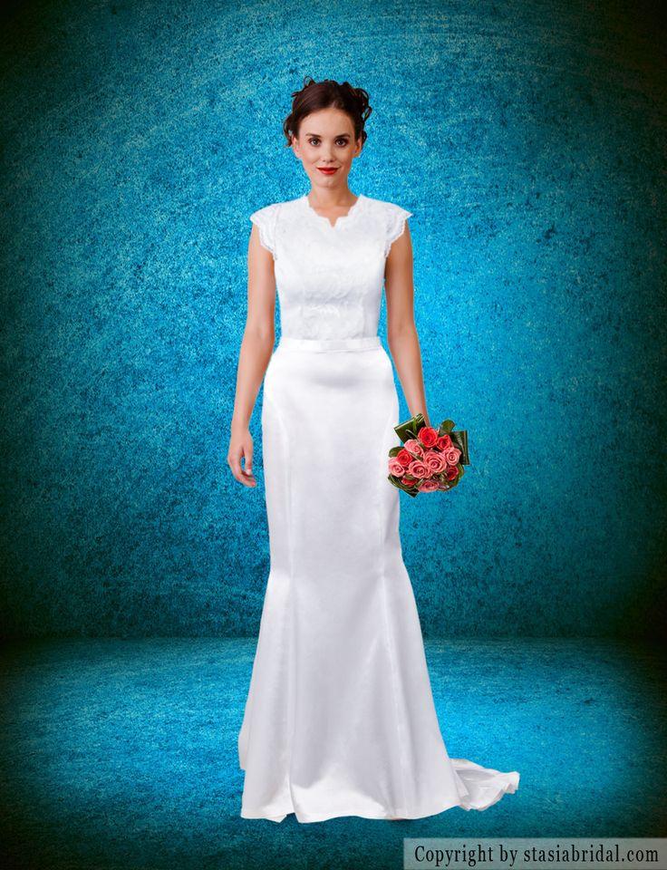 8 best Wedding Dresses images on Pinterest | Homecoming dresses ...