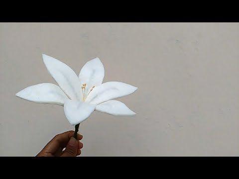 DIY felt flower daisy | Cara membuat bunga Daisy - YouTube