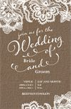 Personalise Your Vertical Flat Wedding Invitation