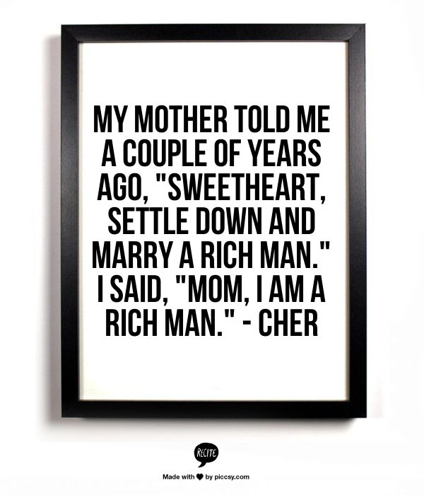 Preach Ladies Be Your Own Rich Man Me Pinterest Words Quotes
