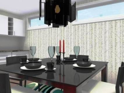 Dining Room Created With RoomSketcher Free Interior Design Software