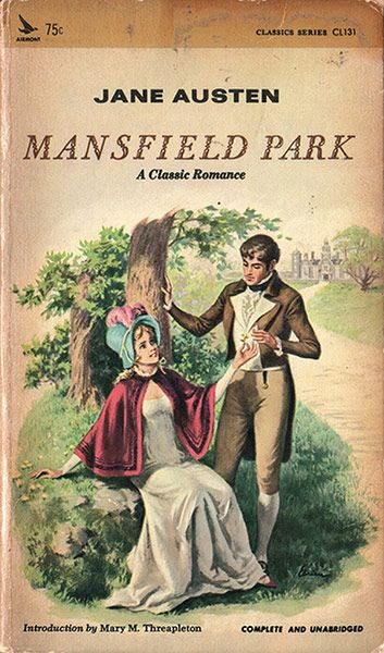 Mansfield Park By Jane Austen Published Airmont In 1967
