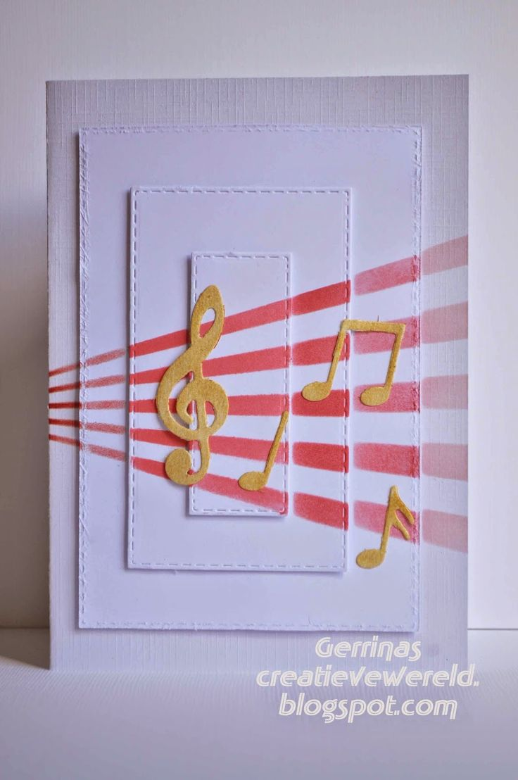 144 best birthday cards music theme images on pinterest birthday gerrinas creatieve wereld musical cardsmusical birthday cardsmaking cardshomemade cardscardmakinggreeting kristyandbryce Choice Image