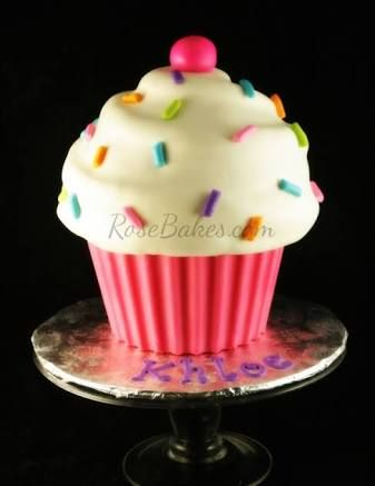 giant cupcake cake - Google Search