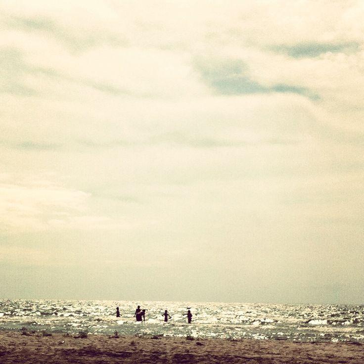In the ocean.
