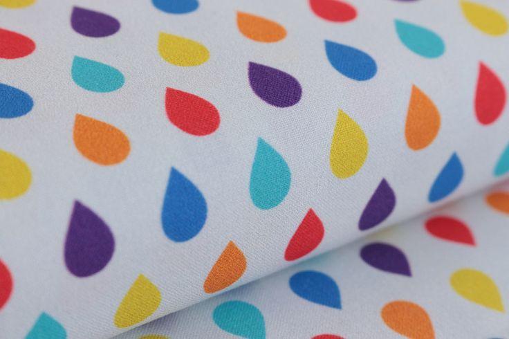 Kropelki  - Tkanina 100% bawełna Sweet Craft - SweetCraft - Tkaniny dla dzieci