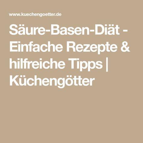 Säure-Basen-Diät - Einfache Rezepte & hilfreiche Tipps ...