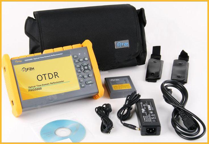מרחוק חינם הדגמה, FHO5000-D26 OTDR 1310/1550nm, 26/24 dB, built-in VFL, מסך מגע, מרחק ארוך 130 km, FC/SC, Grandway F2H