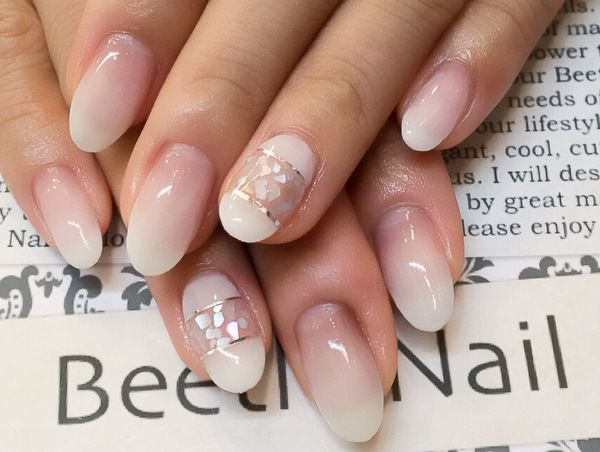 Nail Art - Beetle Nail : 八幡|シンプルシェル  #ネイル #ビートル近江八幡 #ビートルネイル #ネイル近江八幡