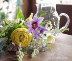 母の日*リューズガラスピッチャー花束「nature」