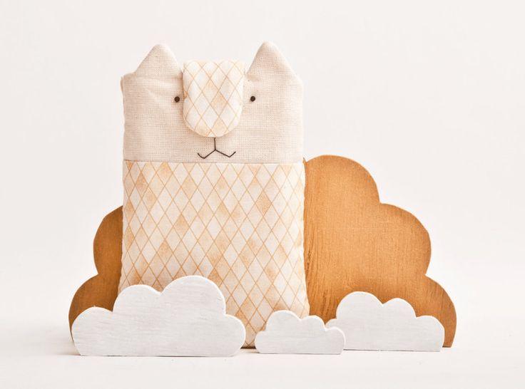 mobiele telefoon cover, iPhone, kat, oranje van JuliaWine op DaWanda.com