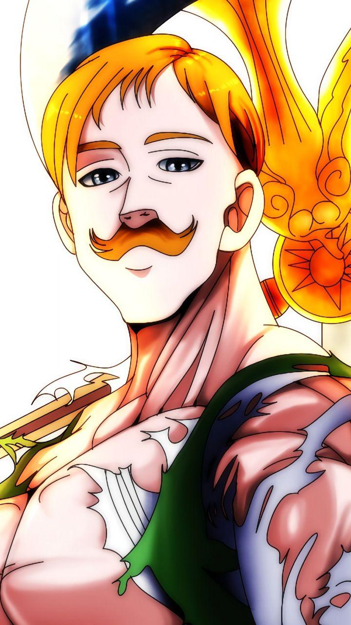 Escanor The Seven Deadly Sins Anime 720x1280 Wallpaper Gambar