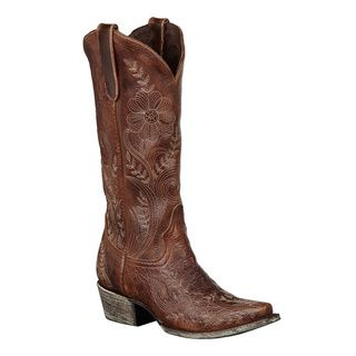 chester outlet bakersfield Lane Boots Women  39 s   39 Ashlee Lace  39  Brown Cowboy Boots