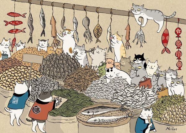 Illustration by Ms. Cat 貓小姐的光陰筆記 - udn部落格