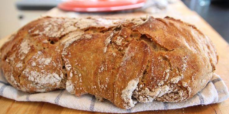 Det beste brødet du kan bake - Dette brødet er garantert det beste du har bakt. Og du slipper å kna!