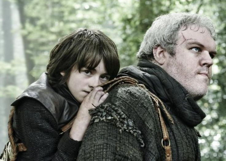 Bran and Hodor - Game of Thrones