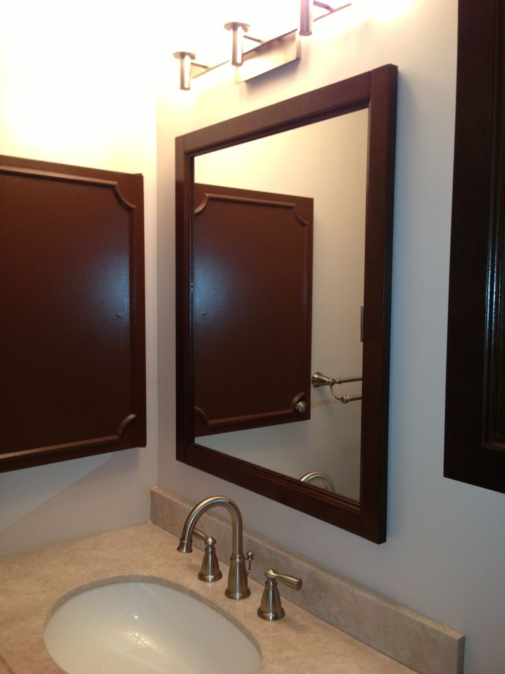 Extend Vanity Light Over Medicine Cabinet : 33 best images about Bathroom Remodel Thoughts on Pinterest Single sink vanity, Home depot and Ps