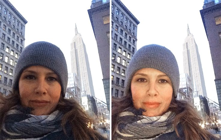 A gloomy day in the city shouldn't get in the way of a great #selfie! Light up your face with LuMee.