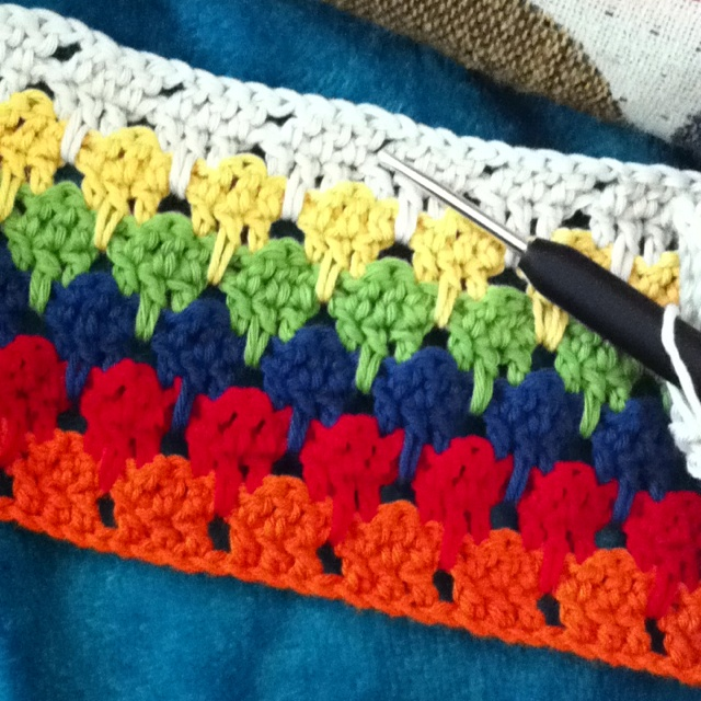 Crochet Stitches Larksfoot : Larksfoot crochet stitch Crochet Pinterest