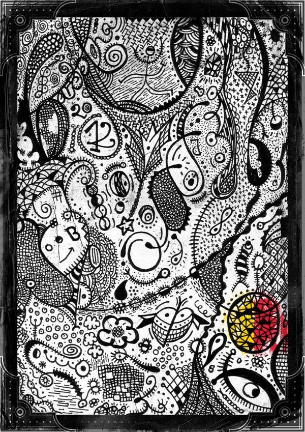 Barcelona #barcelona #offf #poster #illustration #blackwhite #artist