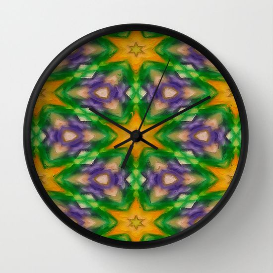 I took a photo of a delicious King Cake and the cropped all but the green, purple and gold creating this Mardi Gras Stars #4509 design. Green is for faith, gold represents power and purple stands for justice.