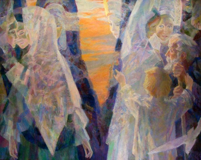 "Georgy Shishkin / Tintement du soir, 2000. Evening chime / Из серии ""Русские сны"""