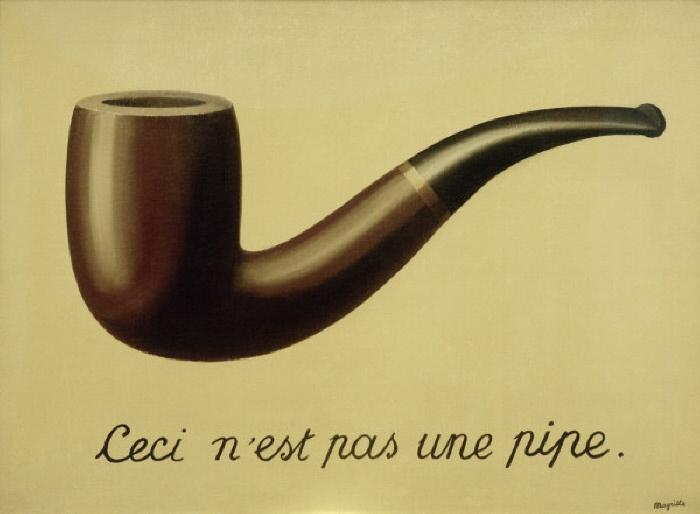 'La Trahision des images', 192 8-29. Huile sur toile, H. 0,646 ; L. 0,941. Los Angeles, County Museum of Art. MONDADORI PORTFOLIO/AKG Images