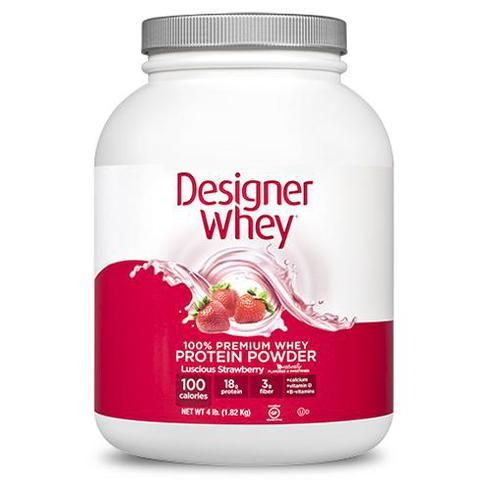 Designer Whey Protein - Strawberry - 4.4 Lb  - WHEY Meal Shakes --> http://cocolaid.com