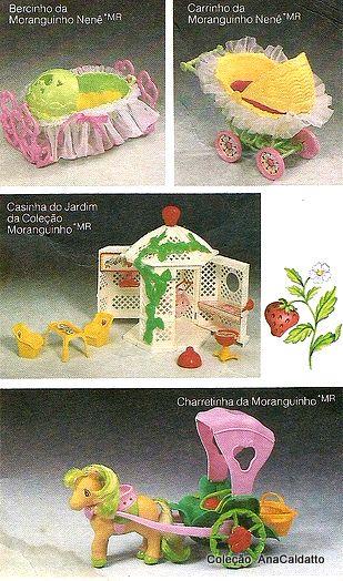 Ana Caldatto : Coleção Moranguinho Bonecas perfumadas década de 80