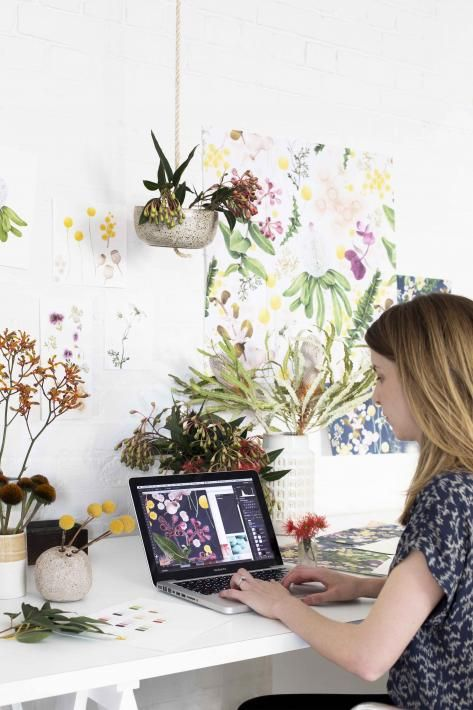 Haymes recently worked with Louise Jones, Melbourne-based pattern and illustration designer, for Collaborate, one of the palettes in the new Haymes Colour Library.