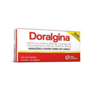 Doralgina C/ 20 drágeas - Drogaria Total Saúde — Drogaria Total Saúde