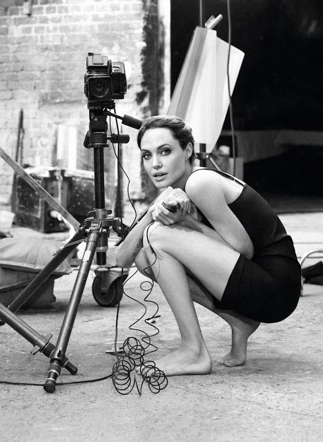 Shooting Film: Angelina Jolies Self-Portraits with a Hasselblad