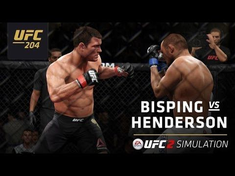UFC (Ultimate Fighting Championship): UFC 204 | EA SPORTS UFC 2 Simulation – Bisping vs Henderson 2