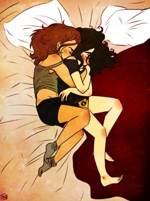 Fem!Destiel <3 repin but ah I love this...can this please be an episode pleaseee