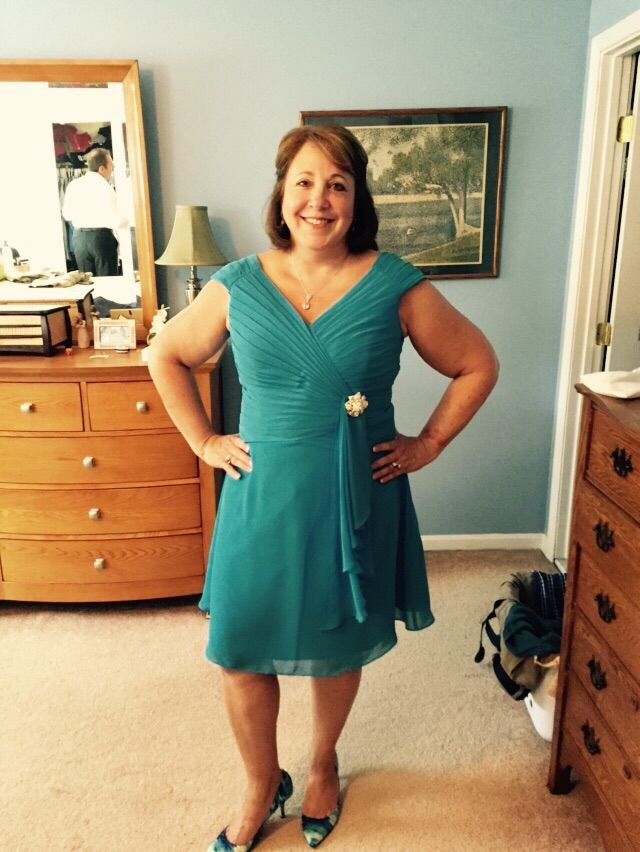 Judy: I ordered a dress for my son's wedding. It was perfect! The color and fit were beautiful, I looked and felt great!
